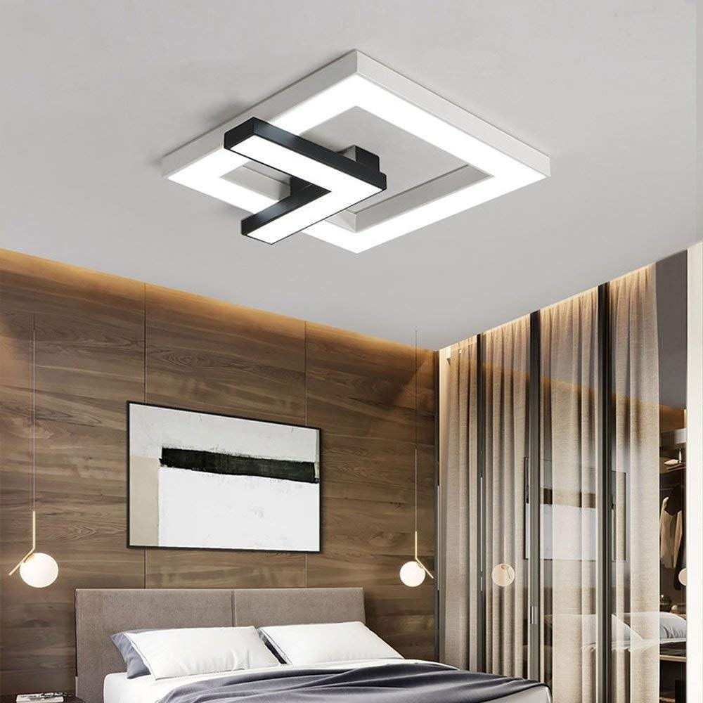 Amazon.com: DTTX003 Lámpara de Techo Moderna Diseño Cuadrado ...