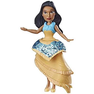 Disney Princess Pocahontas Doll with Royal Clips Fashion, One-Clip Skirt: Toys & Games
