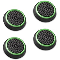 Fosmon (Set of 4) Analog Stick Joystick Controller Performance Thumb Grips Compatible with PS5,…