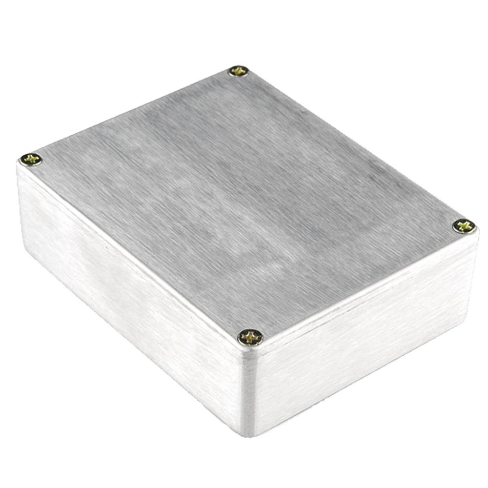 ESUPPORT 1590BB Aluminum Metal Stomp Box Case Enclosure Guitar Effect Pedal Pack of 3 by ESUPPORT (Image #1)