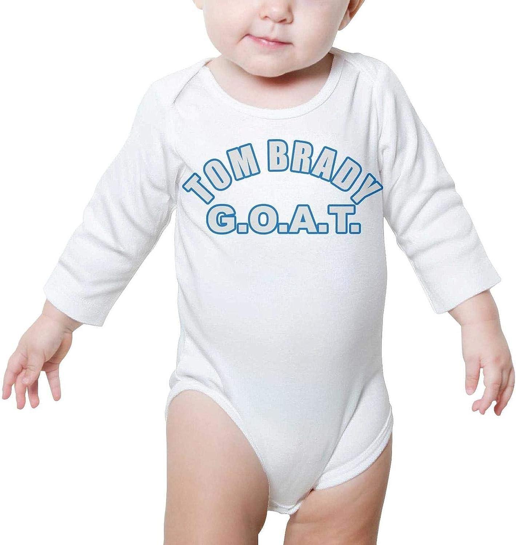 PPLOPO Boy//Girls Romper Bodysuit for Newborn Baby Onesies TomTuesday-TB12-football-MVP Long Sleeve Romper Jumpsuit