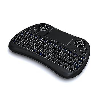 OXOQO Ratón remoto para Windows 10, teclado inalámbrico y ratón ...