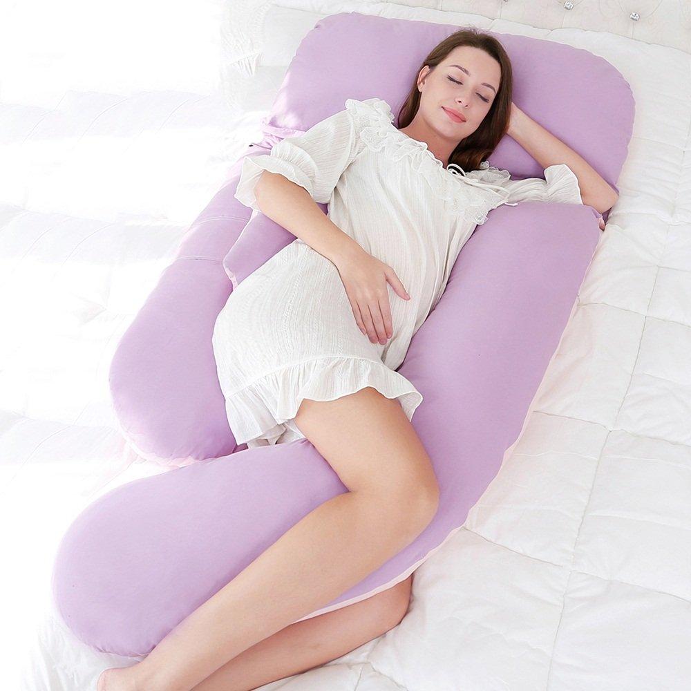 Pregnant women pillow / nursing waist pillow / multi-functional pillow / sleeping side pillow / u-type belly pillow pillow ( Color : A ) by Pregnant women pillow