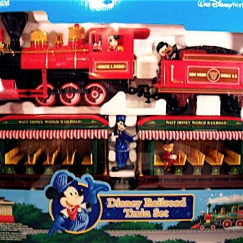 NEW Disney Main Street Railroad Train Set Electronic Scale (Walt Disney World Resort Railroad Train Set)