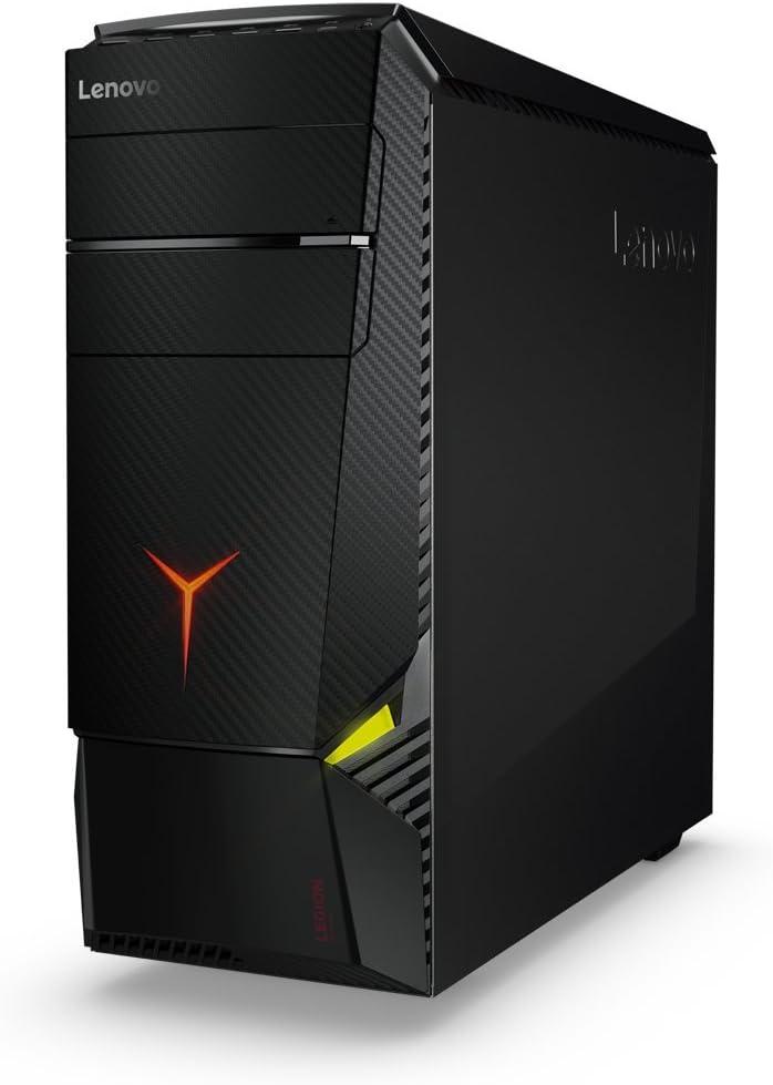 Lenovo Legion Y920 4,2 GHz 7ª generación de procesadores Intel® Core™ i7 i7-7700K Negro Torre PC - Ordenador de sobremesa (4,2 GHz, 7ª generación de procesadores Intel® Core™ i7, 16 GB, 1256 GB, DVD±RW, W