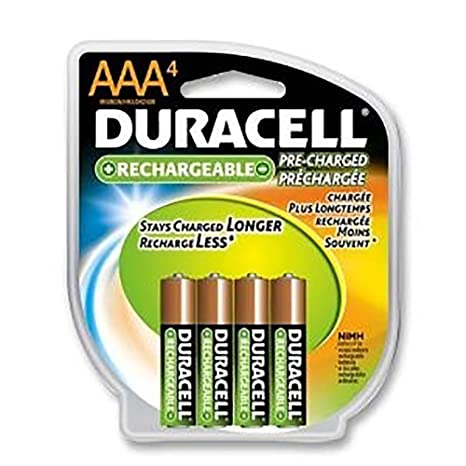 Amazon.com: duracell-duracell recargables AAA 4 pack ...