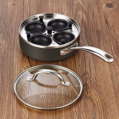 Cooks Standard 4 Nonstick Poacher with 8-Inch