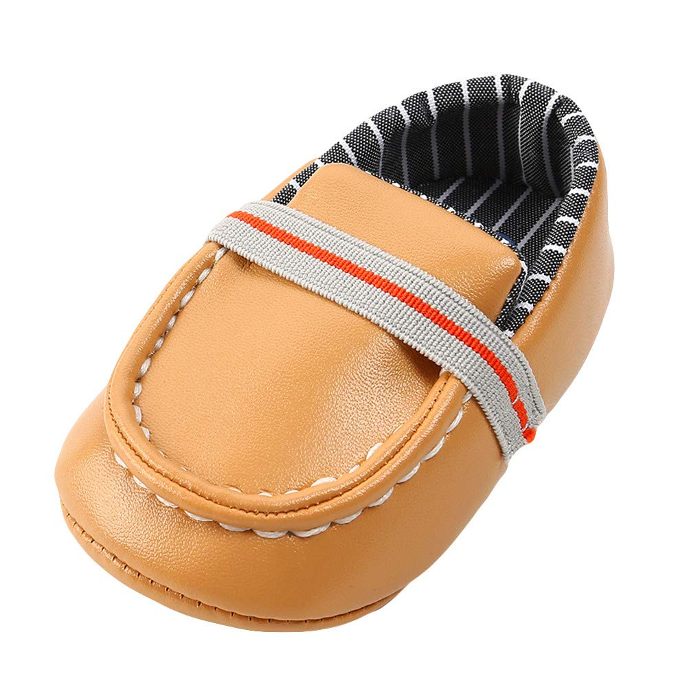 XUANOU Baby Girl Boys Leather Shoes Keep Warm Fashion Toddler First Walkers Kid Shoe