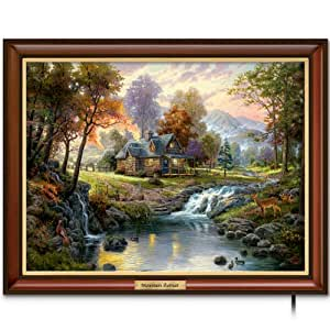 Thomas kinkade canvas print wall decor - Home interiors thomas kinkade prints ...