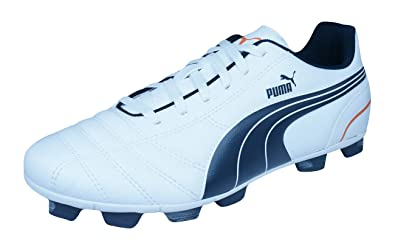 Puma Attacanto Finale R HG Mens Hard Ground Football Boots Cleats-White-8 3d49847b6
