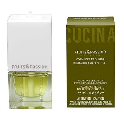 d55d08cf8972 Fruits & Passion Electric Fragrance Diffuser Plug and Refill set (Coriander  and Olive tree)