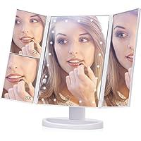 Espejo de Mesa de Maquillaje Triple, Espejo