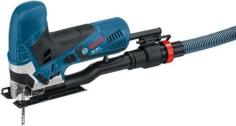 Bosch Professional Scie sauteuse Filaire GST 90 E (650 W, Profondeur de coupe dans le bois/aluminium/acier : 90/20/10 mm, Coffret)