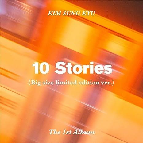 Woolim Entertainment Kim Sung Kyu Infinite 10 Stories Vol 1 Limited Ver Cd Bookmark Photocard Home Kitchen