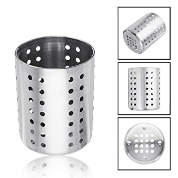 Amazon Com Ordning Utensil Holder Stainless Steel Cooking Tools