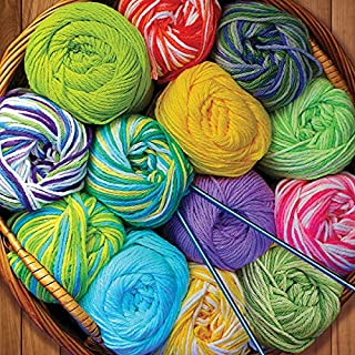 product image for Springbok's 500 Piece Jigsaw Puzzle Colorful Yarn