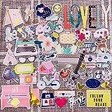 Scrapbook Stickers,Cardstock Stickers Masking