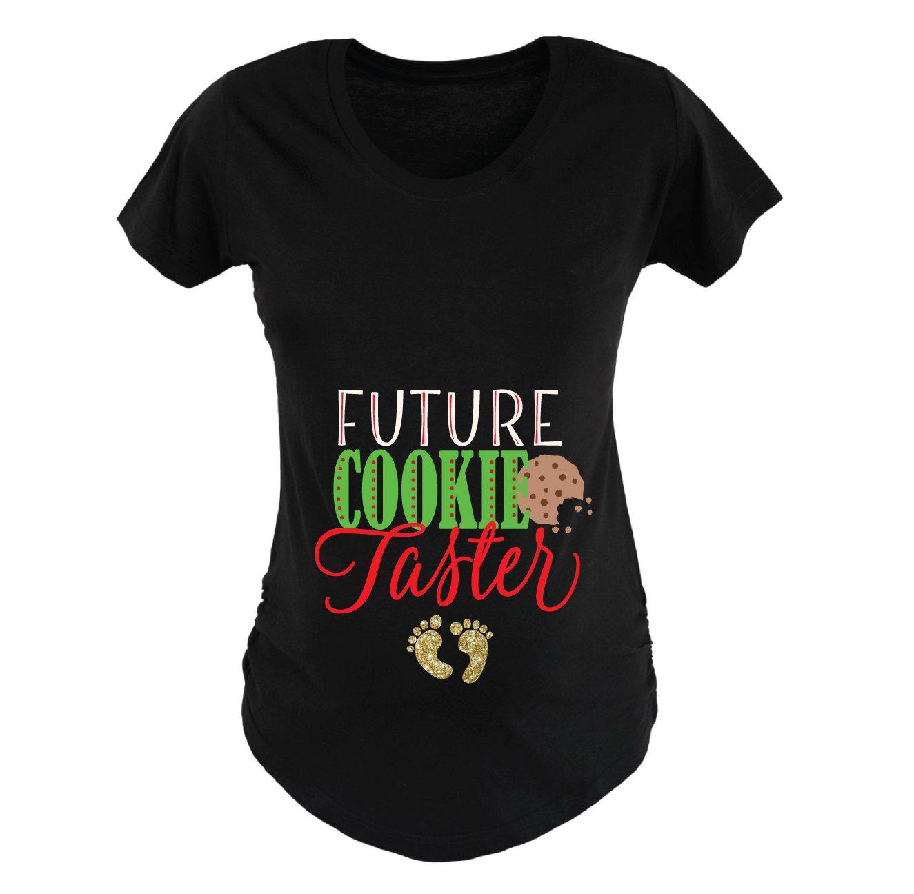 Maternity Christmas Outfit.Amazon Com Christmas Maternity Shirt Future Cooke Taster