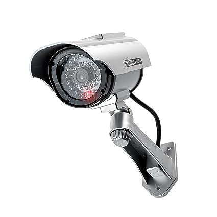 Kobert Goods Solar de überwachsungskamera de Falsa Style G7 Agua Densidad solarbetriebener Dummy CCTV con IR