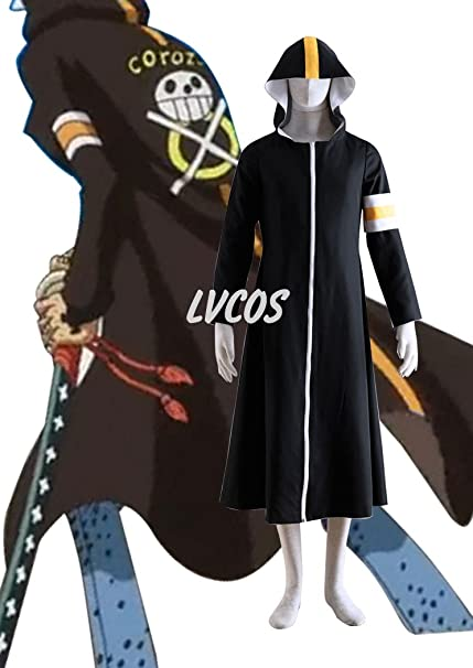 Amazon.com: Cosplay costume larga abrigo del Cirujano de la ...