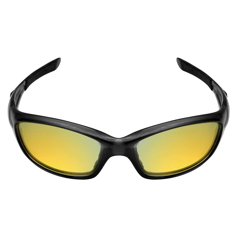 3f7269f8f9b MRY POLARIZED Replacement Lenses for Oakley Straight Jacket 2007 Sunglasses  (24K Gold)  Amazon.co.uk  Clothing