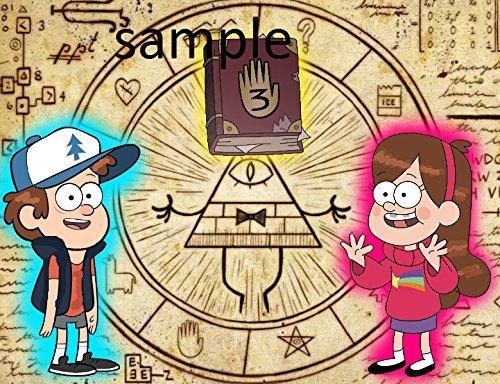 Deco Gravity Falls Eye Edible Picture Cake Topper ()