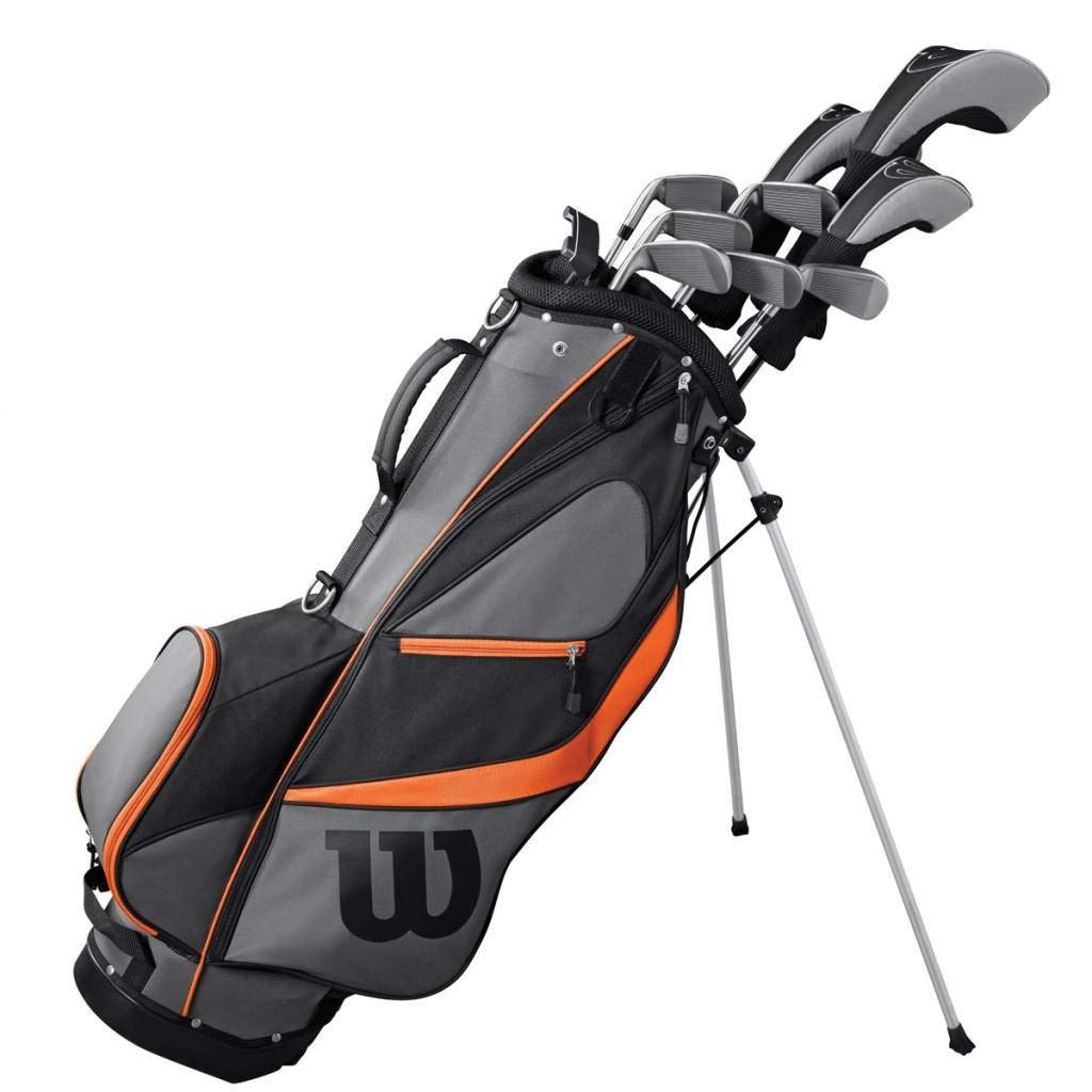 WILSON Golf 2019 - Bolsa de Golf para Hombre (Mango de Grafito, para Mano Derecha)
