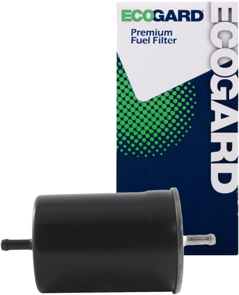 ECOGARD XF60146 Engine Fuel Filter - Premium Replacement Fits Volkswagen Passat, Jetta, Cabrio, Golf, Vanagon, EuroVan, Cabriolet, Corrado, Fox, Transporter/BMW 325i, 525i, 325is, 535i, M3, 318i
