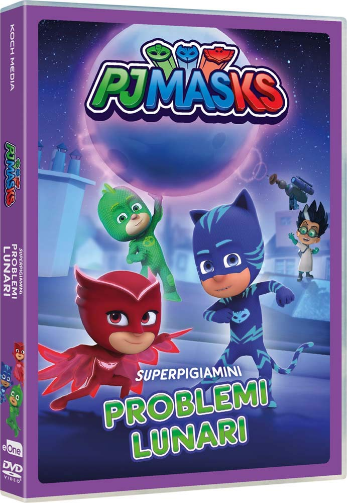 Pj Masks - Problemi Lunari [Italia] [DVD]