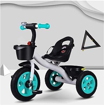 Hejok Bicicleta Triciclo para NiñOs PequeñOs, Triciclo En Triciclo De 3 Ruedas Triciclo Triciclo Edad 1-3-6 Bicicleta Inteligente Nuevo DiseñO para NiñOs Triciclo NiñOs, Section B: Amazon.es: Deportes y aire libre
