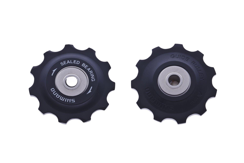 Taglia Unica Nero Shimano XT M780//1 Kit 2 Rotelline Cambio