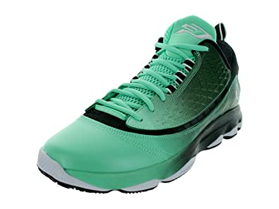best sneakers 14401 ca491 Amazon.com   Jordan Mens Cp3.Vi Ae Green White Black 580580-303   Shoes