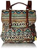 Sakroots Women's Artist Circle Convertible Backpack, Natural One World