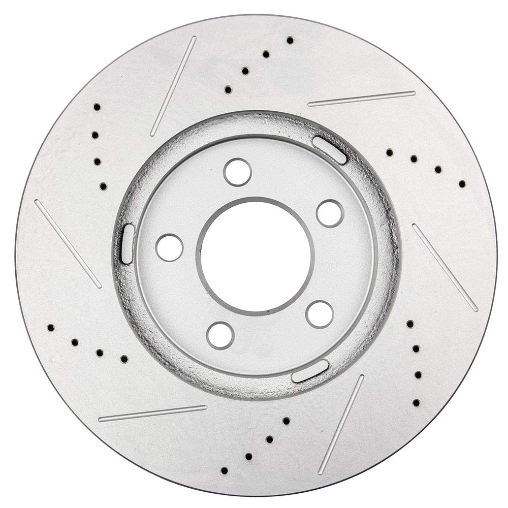 2009 2010 2011 For Ford Crown Victoria Coated Front Disc Brake Rotors and Pads