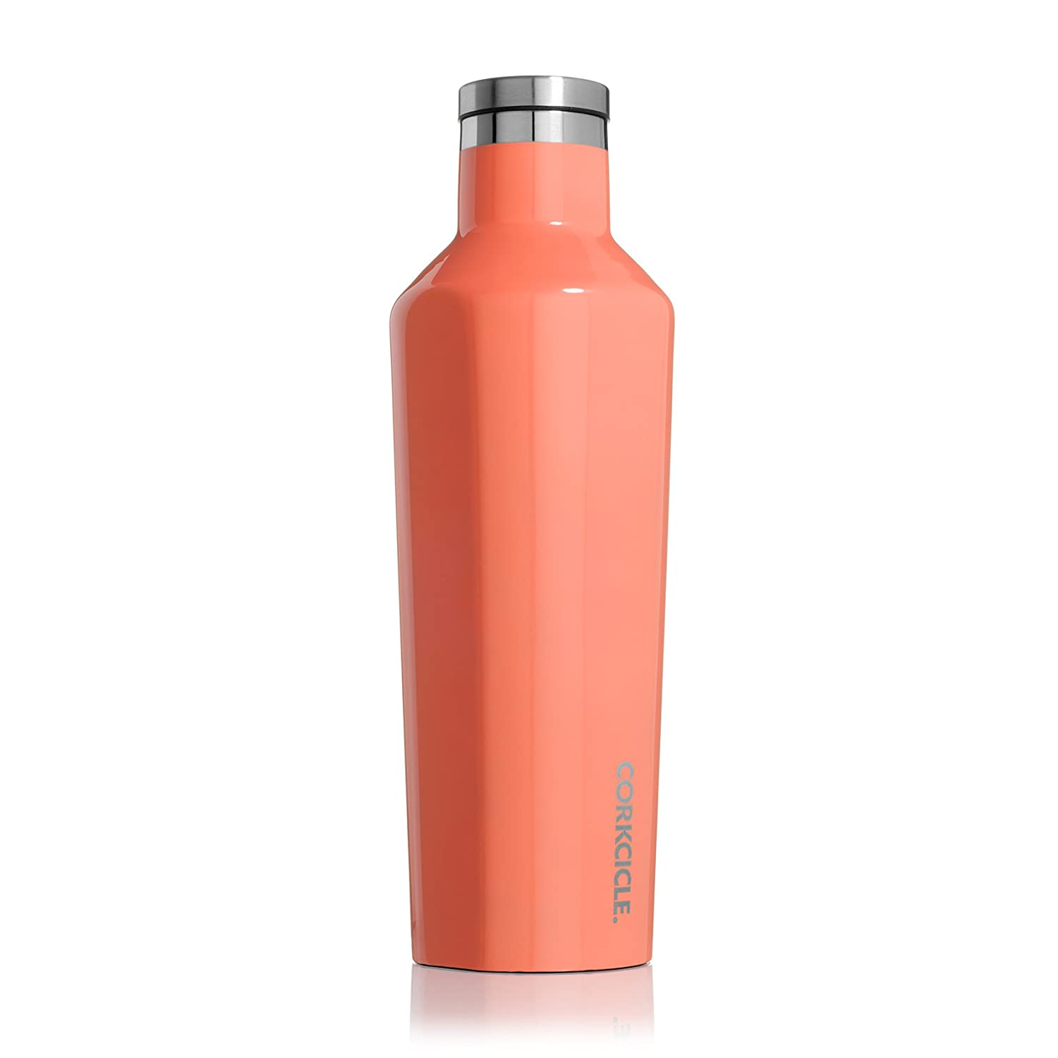 Brushed Steel C2009BS Corkcicle Canteen Classic Collection-Water Bottle /& Thermos-Triple Insulated Shatterproof Stainless Steel 9 oz