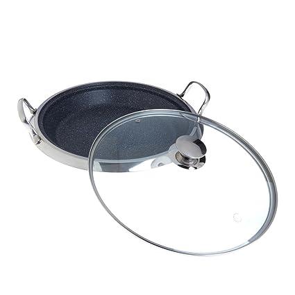 Curtis Stone Dura Pan Nonstick 14 Deep Multipurpose Pan