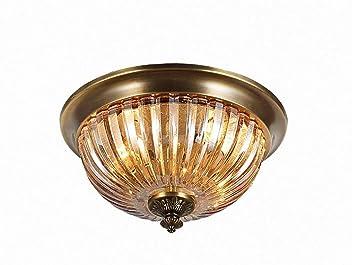 IG Hogar, lámpara de Cobre de los Muebles Luz de Techo ...