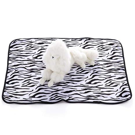 ZHANGZHIYUA Súper Suave Cálido Cachorro de Perro Manta de Lana Perro Mascota Gato Dormir Mantas de
