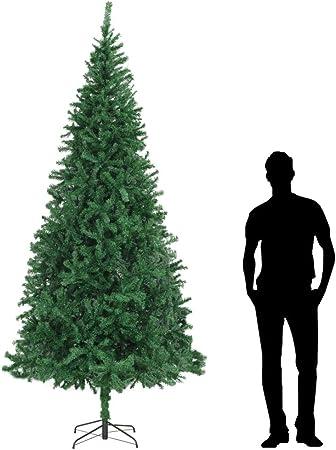 Albero Di Natale 300 Cm.Mewmewcat Albero Di Natale Artificiale 300 Cm Verde Amazon It Casa E Cucina