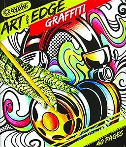 Amazon Crayola Art with Edge Graffiti Adult Coloring