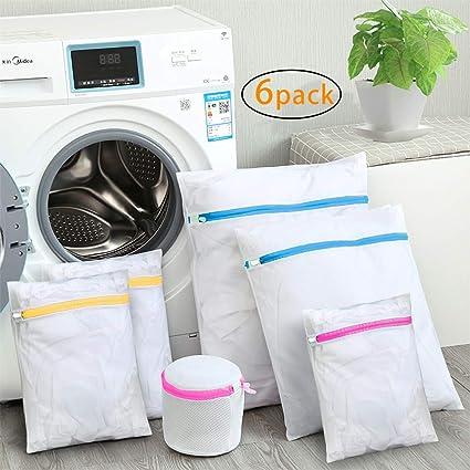 SUNTATOP Bolsas para la Colada,Bolsa Durable Reutilizable para Lavadora Bolsa de red de Lavandería Delicada Blusa para Ropa, Ropa Interior, ...