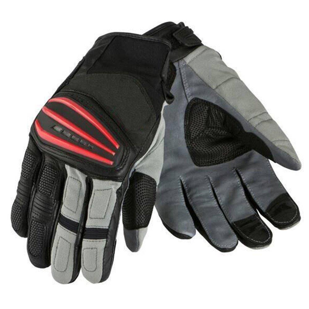 QARYYQ Motorradhandschuhe Racing-Handschuhe Rally-Handschuhe Atmungsaktiv Warme Reithandschuhe, Rot Handschuh (größe   XL)
