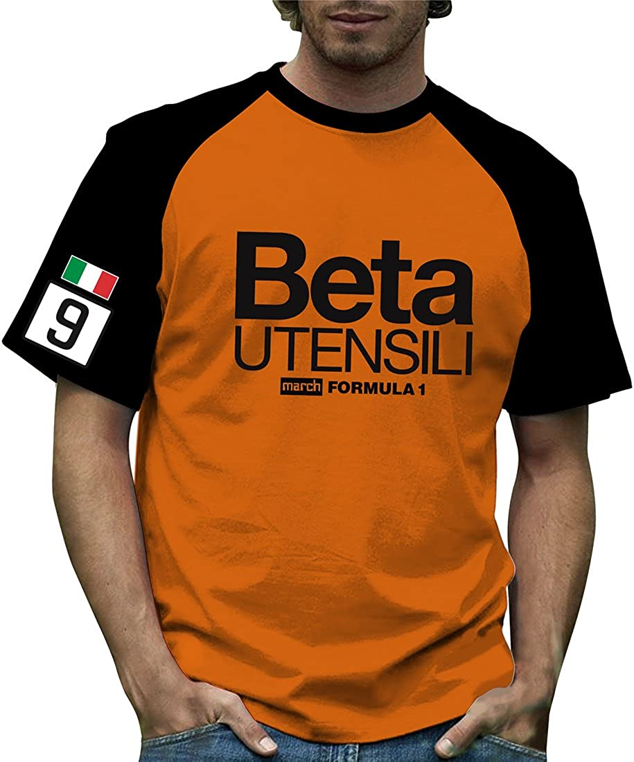 Retro Formula 1 Historic March Beta Grand Prix - Camiseta de contraste