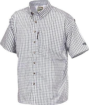Drake Men's Short Sleeve Delta Vented Shirt
