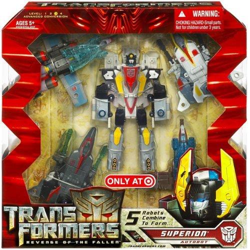Transformers 2: Revenge of the Fallen Exclusive 5-Figure Combiner Set Superion (Fallen Set Figure)