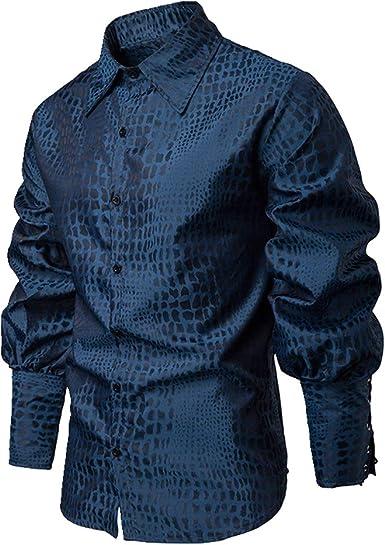 U/A Camisa de manga larga para caballero, para hombre: Amazon.es: Ropa y accesorios