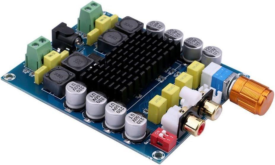 DollaTek TDA7498 2x100W Dual Channel Digital Class D Audio Amplifier Board DC 14-32V 24V Powered Stereo Power Amp Module