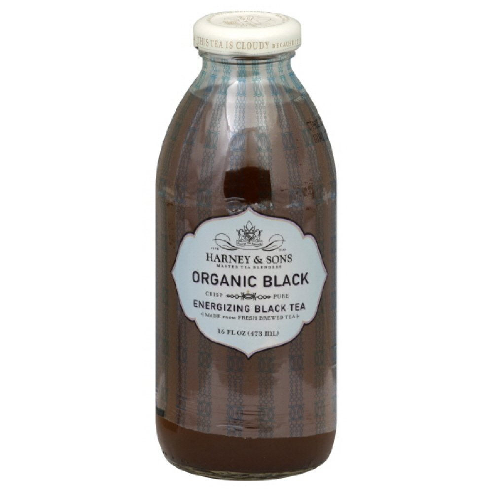 Harney & Sons Organic Black Tea, 16-ounces (Pack of12)