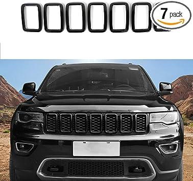 2019 Jeep Grand Cherokee Black Grill