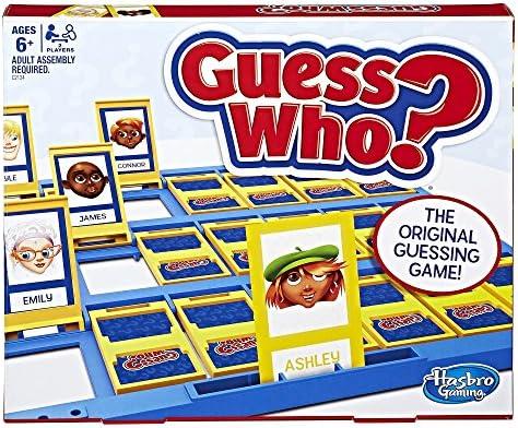 Amazon Hasbro Guess Who Classic Game Hasbro Toys Games
